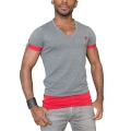 Vêtements Homme - T-SHIRT BRAVE COOL Gris chiné