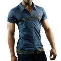 Vêtements Homme - T-shirt Seduction Deluxe Bleu