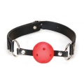 Baillon - Ball Gag rouge respirable