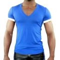 Vêtements Homme - T-Shirt Hello Bleu Royal