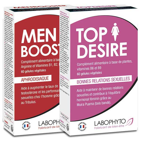 Pack Booster de libido en couple