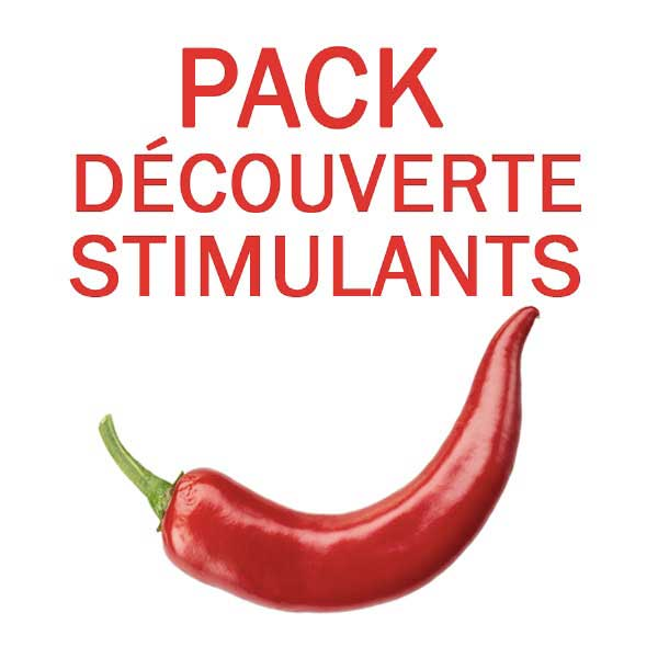 Aphrodisiaque Hommes - PACK STIMULANT A TESTER