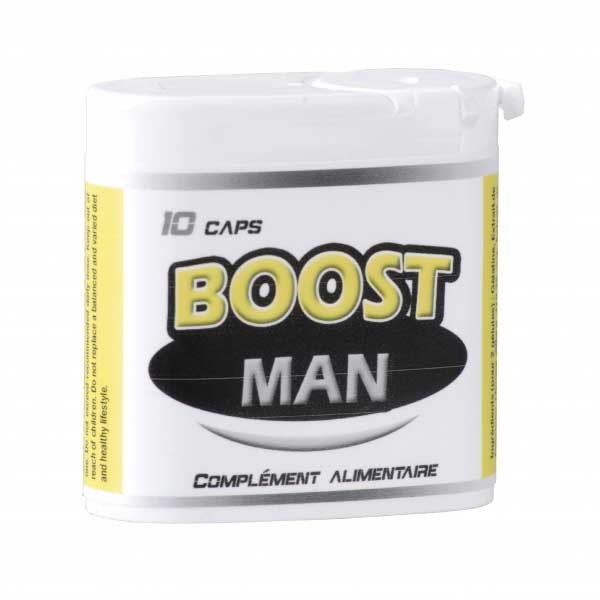 BOOST MAN 10 Gélules