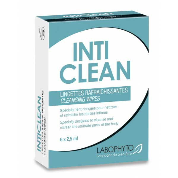 IntiClean Lingettes Nettoyantes