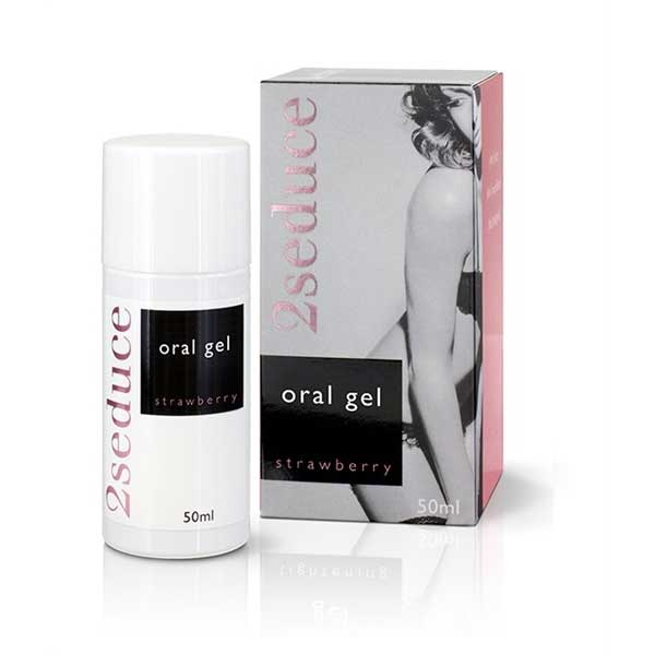 Gel Oral 2Seduce Fraise (50ml)