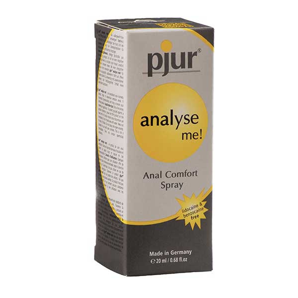 Spécial anal - Spray anal Pjur « Analyse me » (20 ml)
