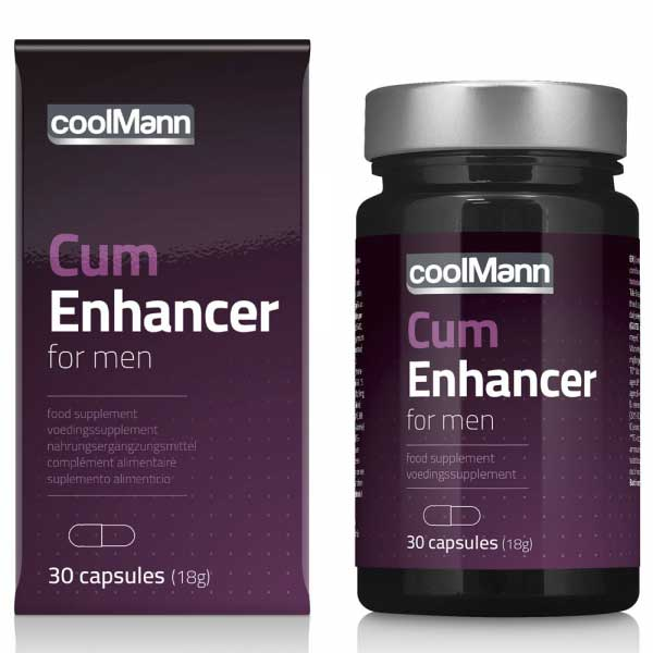 Cum Enhancer Coolman (30 gélules)