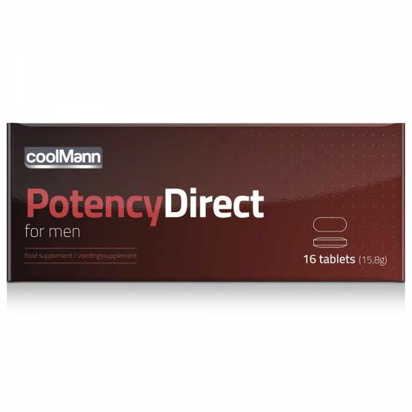 Potency Direct for Men (16 ...
