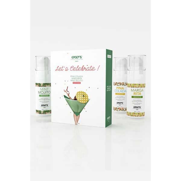 Coffret de massage Let's Celebrate