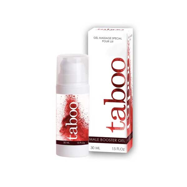 Gel d'érection Taboo Male Booster