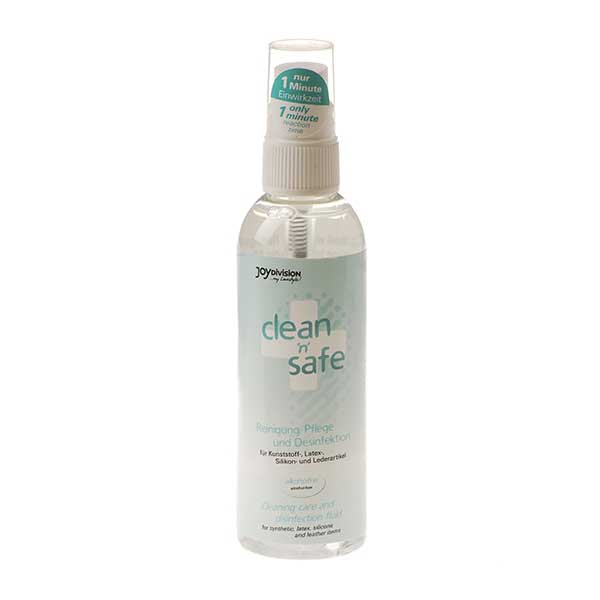 Désinfectant sextoys clean'n'safe (100 ml)